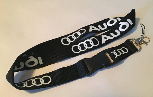 Audi Auto Fan Schlüsselanhänger Schlüsselband Anhänger Band
