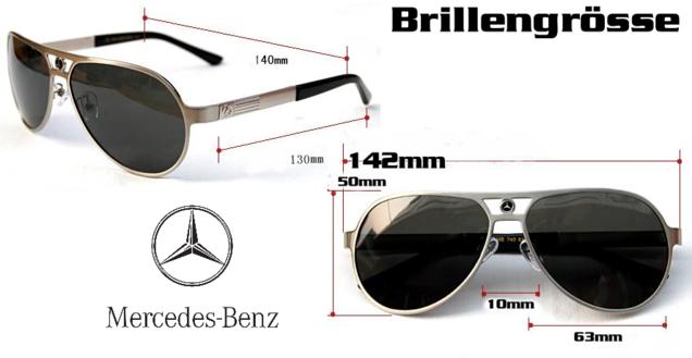 CHF 200.00 Mercedes-Benz Mercedes Benz Auto Sonnenbrille Brille Fan Shop