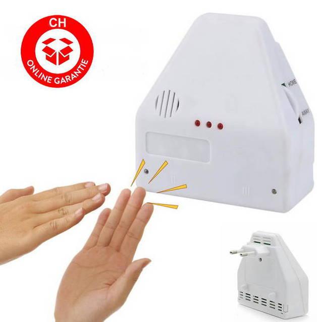 Elektronischer Klatschschalter anschliessbar für 2 Geräte Akustikschalter Lampen Clapper Garage Licht Leuchten Klatsch Schalter Heim bekannt aus dem TV