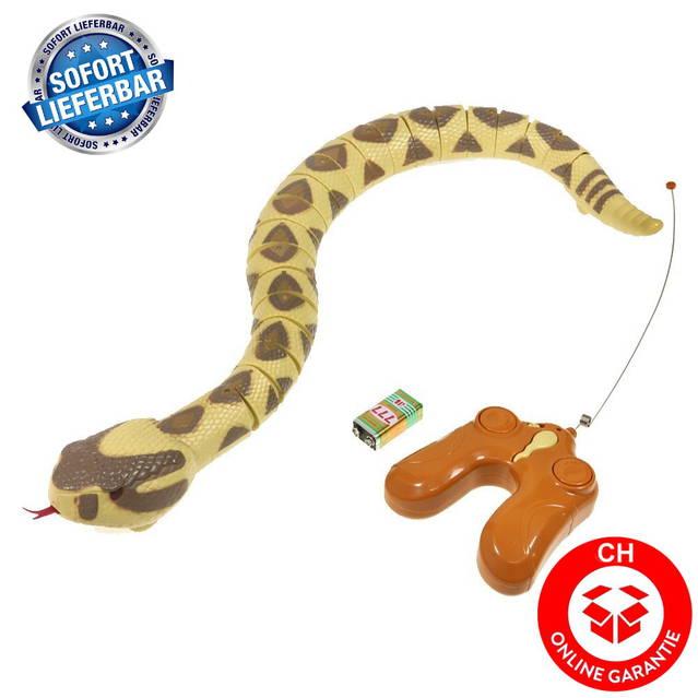 Ferngesteuerte Schlange Fernbedienung Spielzeug Rattelsnake RC Kind Kinder