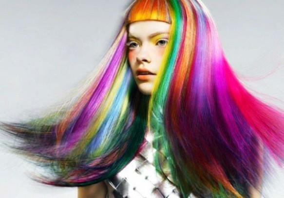 Hot Huez Temporary Hair Chalk - Haarkreide, Tönung, Färben, Farbe - 4 Farben