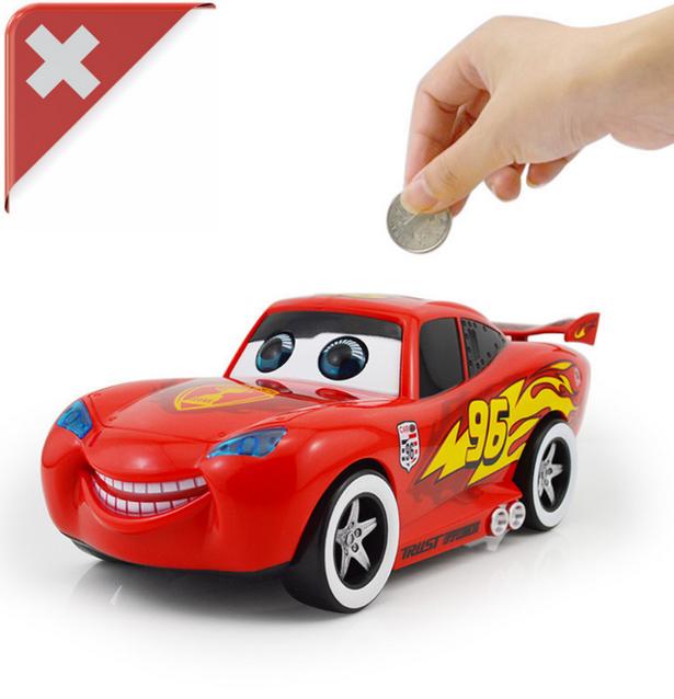 Spardose Sparbüchse Sparschwein Kinder Car Auto Spielzeug Münz Münzen Münzfach Auto