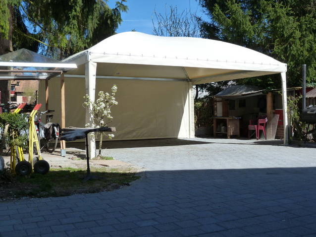 Texbau Gartenzelt, Pavillon,Ganzjahreszelt, Unterstand, Zelt