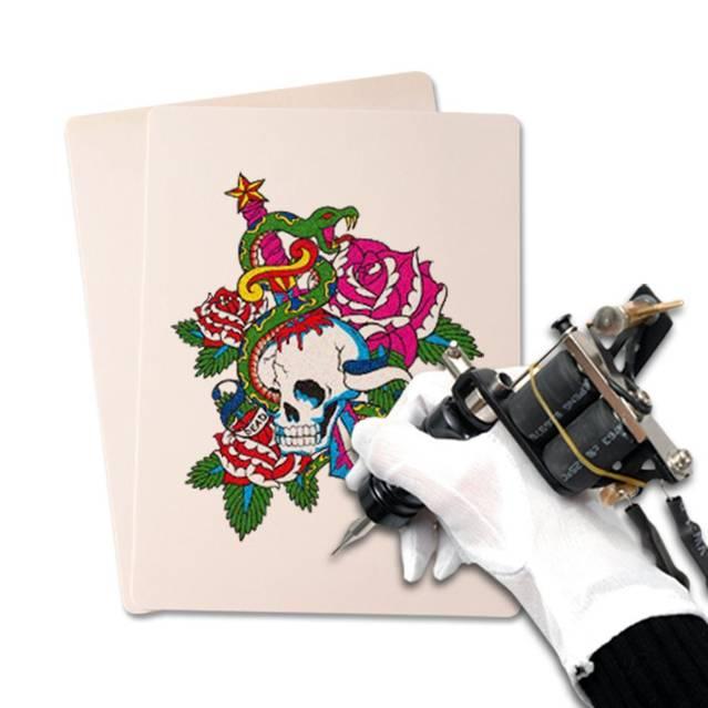 20er Set Tattoo Tätowierung Übungshaut Übungshäute Kunst Kunsthaut Üben