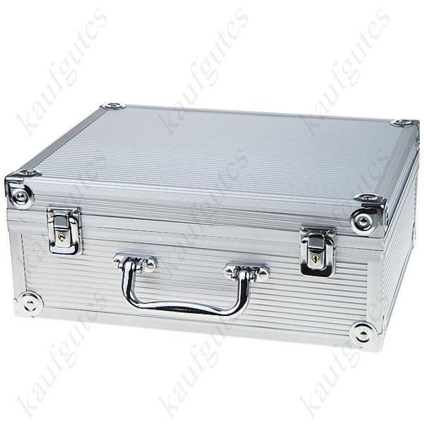 2x Profi Tattoomaschine Tattoo Maschine Komplett Set Tätowierung Tätowierung Maschine mit Koffer