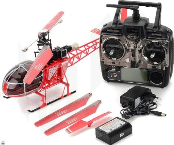Air Lama - der Kult Heli aus Zermatt - mit LCD Fernsteuerung 4 Kanal Heli Hubschrauber Helikopter 70cm