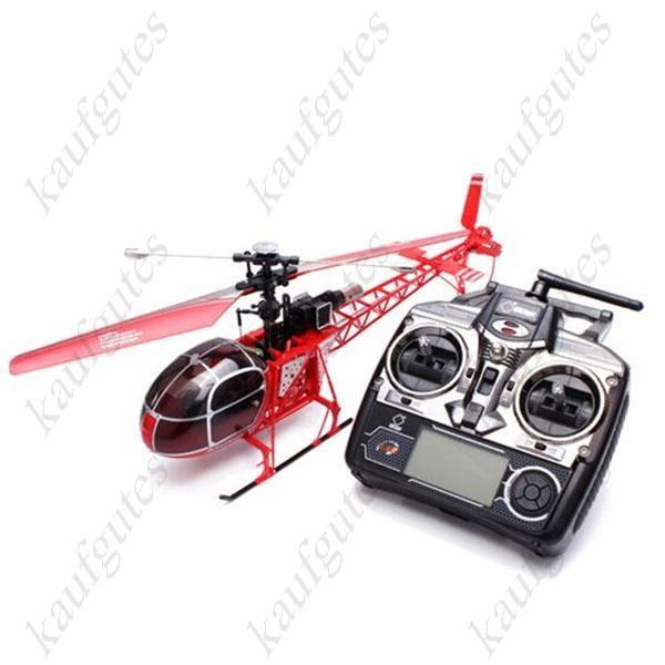 Air Lama mit LCD Fernsteuerung 4 Kanal Heli Hubschrauber Helikopter 70cm Geschenk RC Kinder Weihnachten