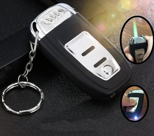 Audi Auto Feuerzeug Sturmfeuerzeug Fan Geschenk Taschenlampe