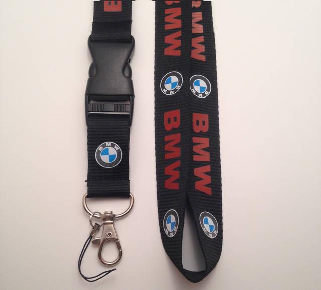 BMW Auto Schlüsselband Schlüssel Band Anhänger Schlüsselanhänger Fan mit Schriftzug