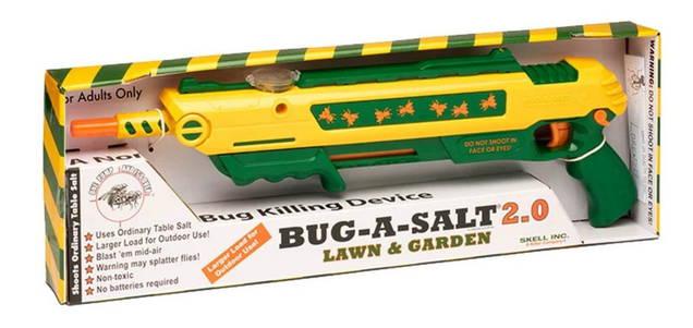 BUG-A-SALT 2.0 BUG A SALT Salz Gewehr Salzgewehr Flinte Gewehr Sommer Rasen Garten Edition Outdoor Fliegen Fliegenwehr Insekt Insekten Fliegenklatsche Fliege USA Schweiz Kauf