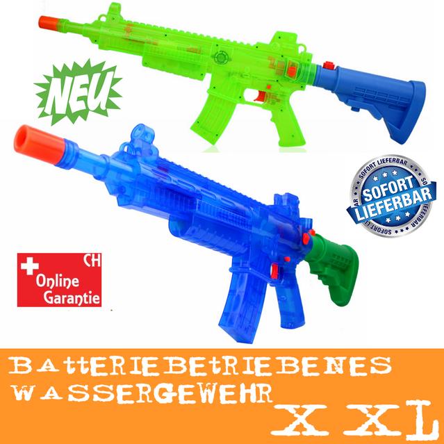 Batteriebetriebene Wasser-Spritzpistole LED-Lichteffekt Sound Wassergewehr Wasserpistole Sommer Spielzeug Kind Kinder