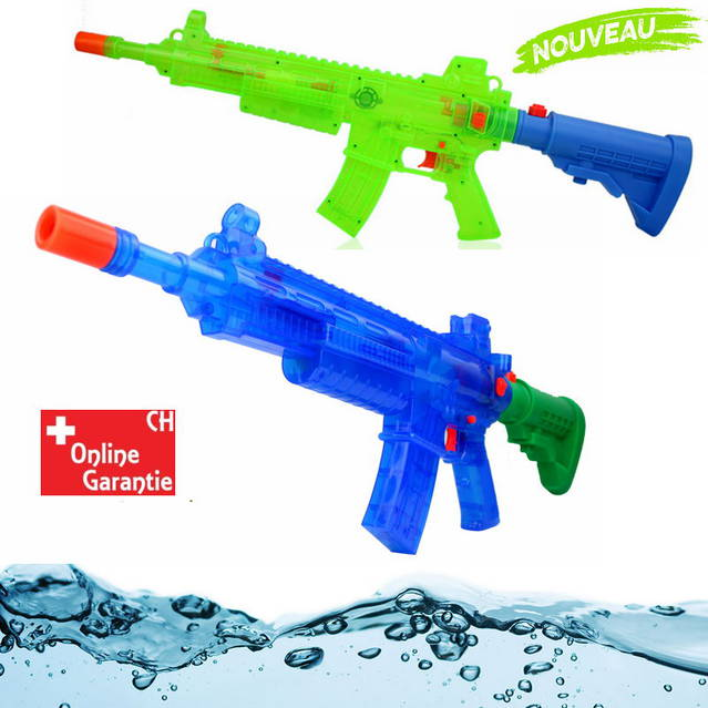 Batteriebetriebenes Wasser Spielzeug Wassergewehr Wasserpistole Wasser Pistole Gewehr Spielzeug Kind mit LED Licht und Sound Sommer Sommerspielzeug Toy