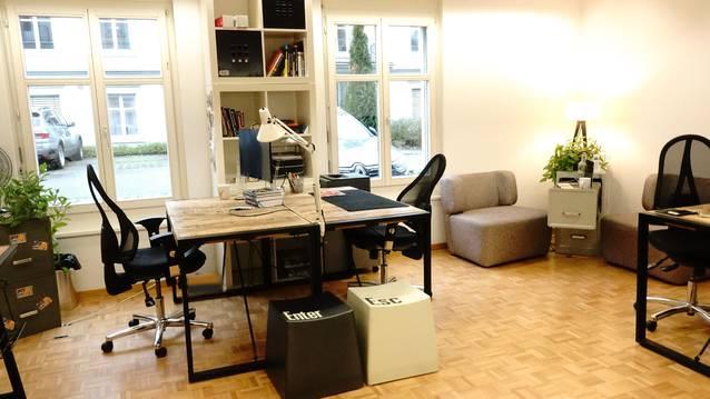 Büroplatz in Marketing Agentur frei