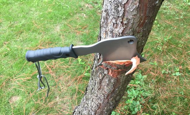 CK Cavra Camping Outdoor Axt Jagd Überleben Survival Beil Metallaxt Überlebenskit Kompass