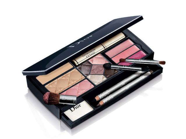 Christian Dior All in One Makeup Set Palette Reisen Unterwegs Geschenk Frau Weihnachten