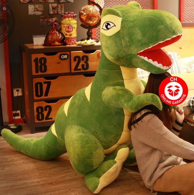 Dino Plüsch Dinosaurier T-Rex Tyrannosaurus Rex Plüschtier Plüsch Geschenk XL XXL XXXL Kind Kinderzimmer