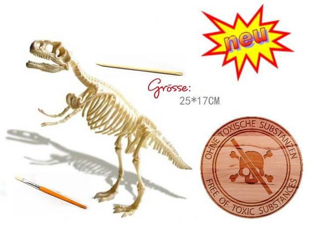 Dinosaurier Tyrannosaurus-Rex T-Rex Ausgrabungsset Experiment Skelett Kreativ Pädagogisch Archäologie