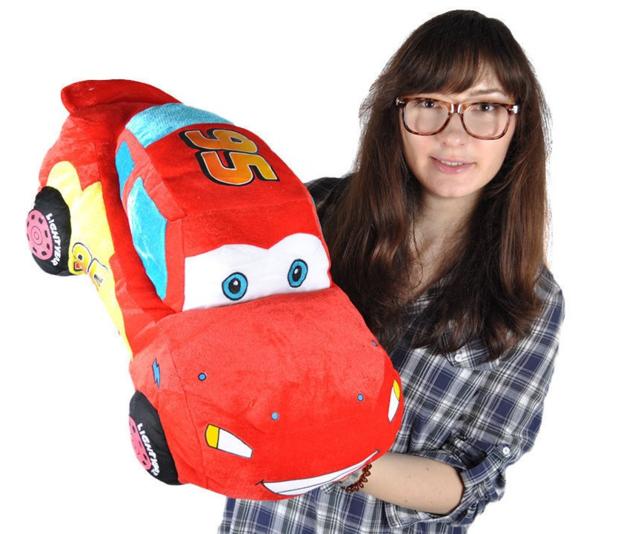 Disney Cars Lightning McQueen Plüsch Auto Plüschauto 55cm XL Geschenk Kind Junge Boy Pixar