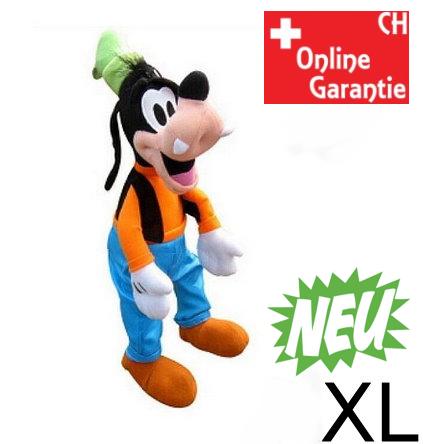 Disney Goofy Plüsch 75cm grosses Plüschtier Geschenk Kind XXL