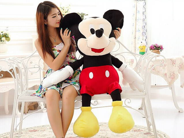 Disney Micky Maus Plüsch Plüschtier Plüschfigur Micky XXL 130 cm Gross Geschenk