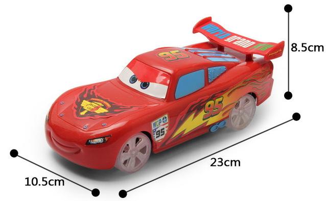 Disney Pixar Cars Lightning McQueen Auto Car Flitzer RC Fernbedienung Spielzeug Geschenk Junge Kind