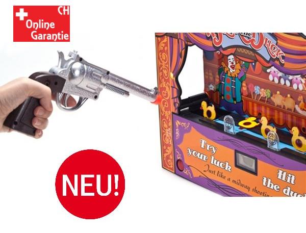 Duck Shoot Enten Schiessbude Spielzeug Enten Schiessen Infrarot Pistole Spielzeug Jahrmarkt Zuhause Geschenk Kind Party Spass