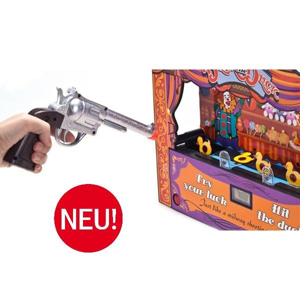 Duck Shoot Enten Schiessen Entenschiessen / Schiessbude auf laufende Ente / Spass für Gross & Klein Spielzeug
