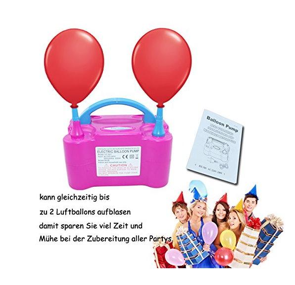 Elektrische Luftballon Pumpe Luft Ballon Pumpe Hochzeit Party