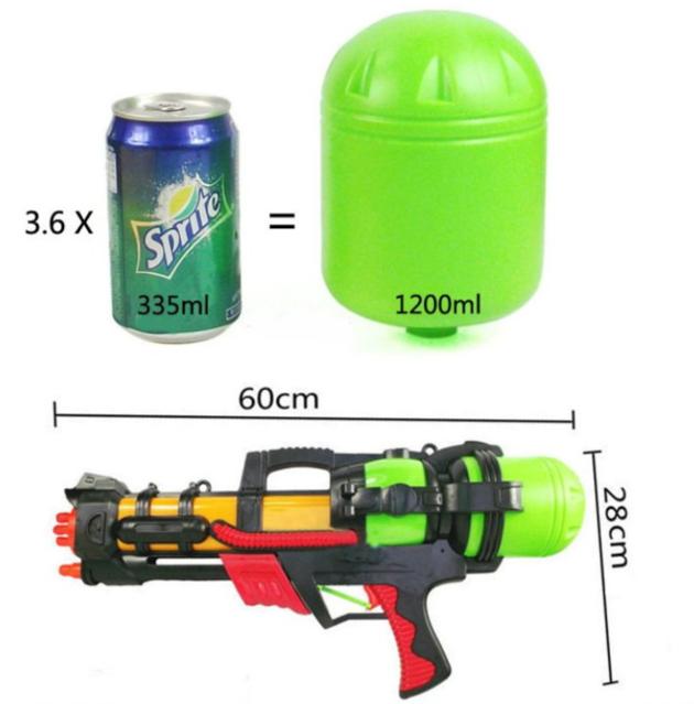 Wasser Gewehr Wasserpistole Wassergewehr Sommer 60cm Sommerspielzeug Wasserspielzeug Kind Kinder