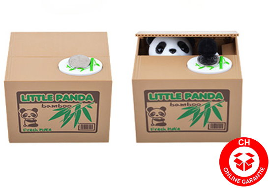 Elektronische Panda Geld Sparbox Spardose Schwein Geschenk