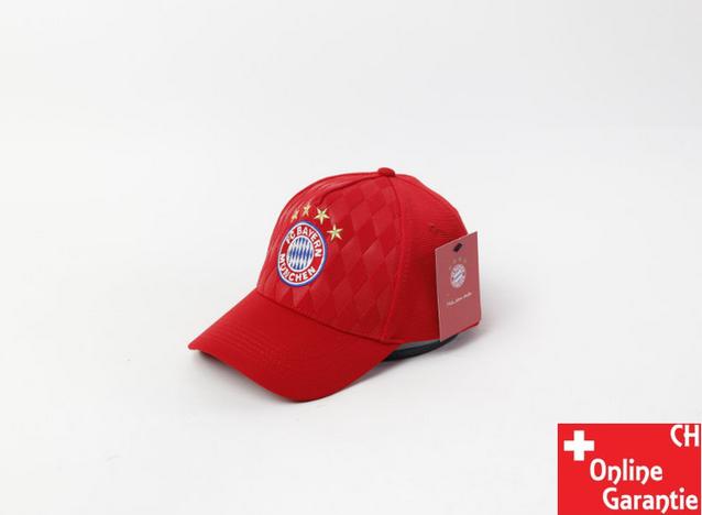 FC Bayern München Kappe Cap Mütze Fan Fanartikel Fussball 2 Farben Baumwolle