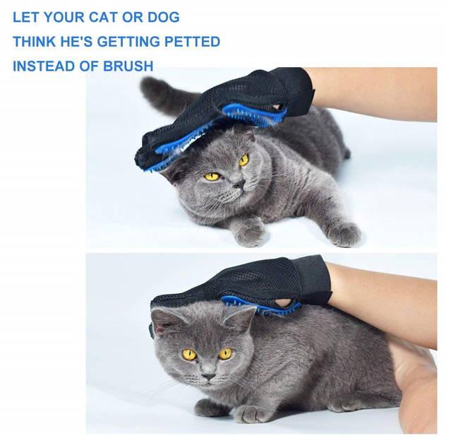 Fellpflege Tier Handschuh Katze Hunde Hund Tierhandschuh Fell Pflege - Tierhaare kinderleicht entfernen Neuheit