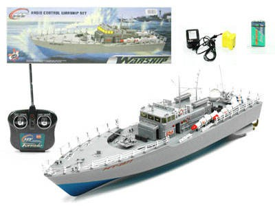 Ferngesteuertes Schiff Kriegsschiff RC Wasser Spielzeug Wasserspielzeug Badewanne