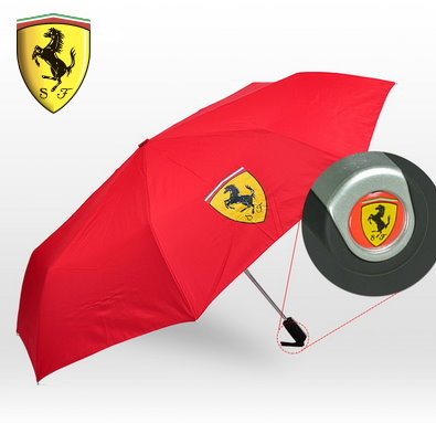 Ferrari Scuderia Fan Schirm Regenschirm Automatik Rot Fan Shop
