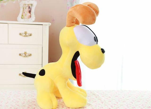 Garfield Hund Odie Plüsch Plüschtier Plüschhund Geschenk XL Geschenk Kuschelhund Plüschtier Herzig Süss