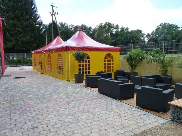 Gartenzelt, Pavillon, Untestand, Carport, Weidezelt