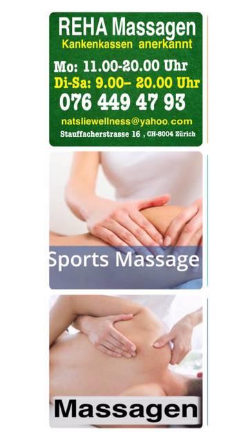 Gesundheit & Massagen