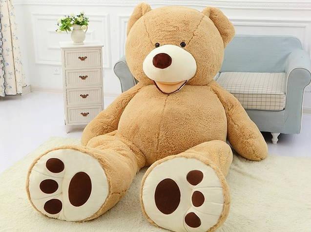 Gigantischer Plüsch Bär Teddybär Teddy Bär Bärli 260cm Geschenk Geburtstag Weihnachten Valentinstag Gross XXL