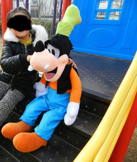 Goofy Plüsch XXL Plüsch Puppe Plüschtier Disney Plüschfigur Plüsch Goofy Mickey 100cm