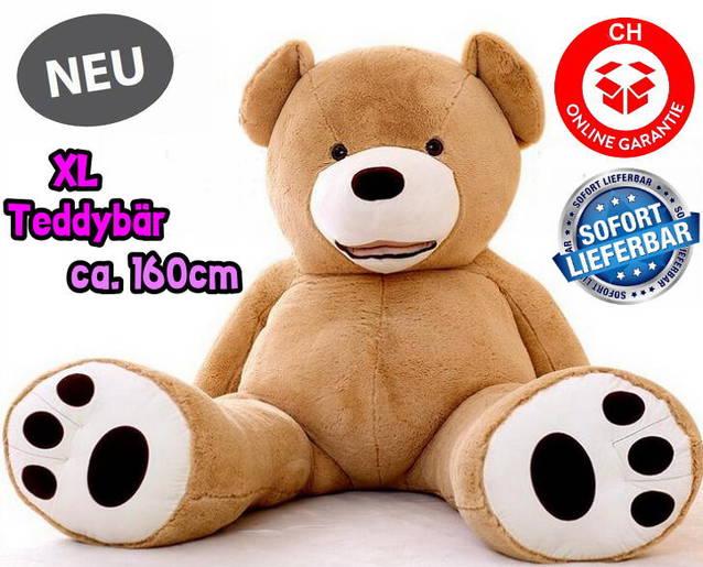 Grosser Plüschbär Teddy Teddybär Plüsch Bär Plüschteddy Plüschteddy Plüschtier XXL Geburtstag Geschenk Kinder