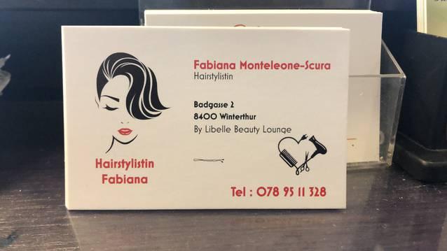 Hairstylistin Fabiana