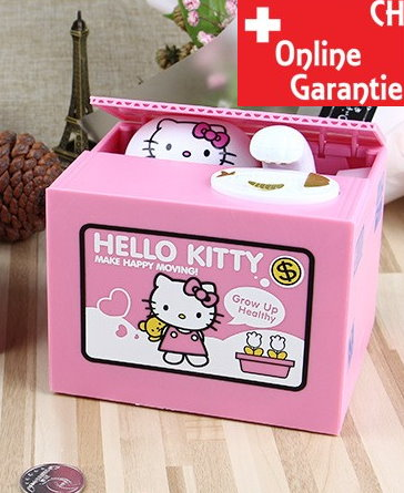 Hello Kitty Hello Geld Münz Dose Sparschwein Spardose Sparbox Geschenk Kinder