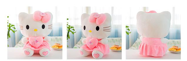 Hello Kitty Hellokitty Plüschtier Cat Herz Love Plüschtier 70cm Geschenk Kind Mädchen Liebe Love Herz