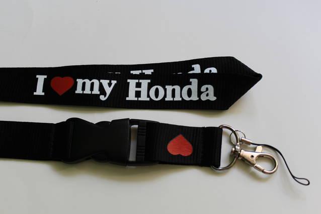 Honda I Love You Schlüssel Band Anhänger Schlüsselband Fan