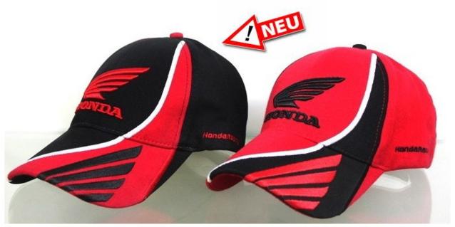 Honda Racing Fan Sport Kappe Mütze in 2 Farben Fanshop