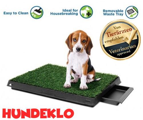 Hunde Klo WC Hundeklo Hundewc Welpen Trainingsgerät USA HIT Welpenklo Schweiz Stubenrein Indoor und Outdoor mit Behälter WC