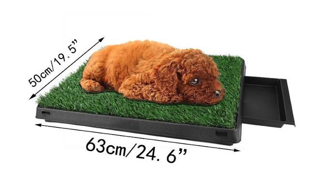 Hunde Klo WC Hundeklo Hundewc Welpen Toilette Trainingsgerät Welpentoilette USA Klo HIT Deluxe Model Stubenrein