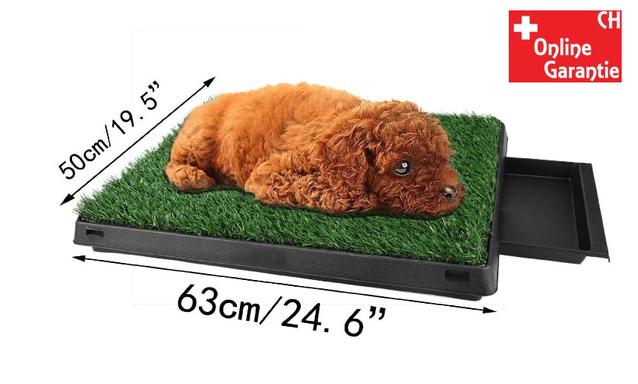 Hunde Klo WC Hundeklo Hundewc Welpen Klo WC Training Stubenrein Indoor und Outdoor geeignet Premium Model Tiere & Zubehör