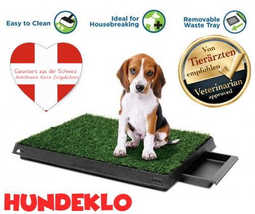 Hundeklo für Zuhause Balkon Hunde Klo WC Toilette Welpen Klo Welpenklo Indoor & Outdoor geeignet