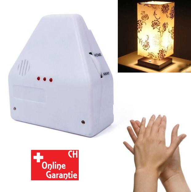 Klatschschalter Klatsch Akustik Schalter Lampen bis 2 Geräte TV Werbung